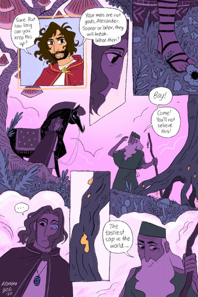 Alexander the Great comic by Reimena Yee